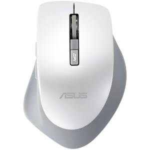 Mouse Asus WT425, optic fara fir cu nano receiver, Alb