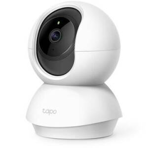 Camera de supraveghere Smart TP-Link Tapo C200 cu Pan/Tilt 360 grade, Full HD 1080P, Night Vision