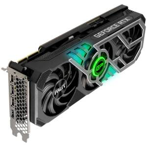 Placa video Palit GeForce RTX™ 3090 GamingPro OC, 24GB GDDR6X, 384-bit